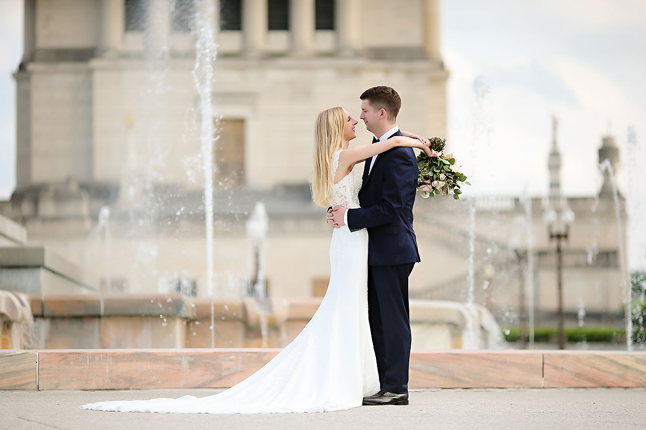 Molly Declan Scottish Rite Indianapolis Wedding 162