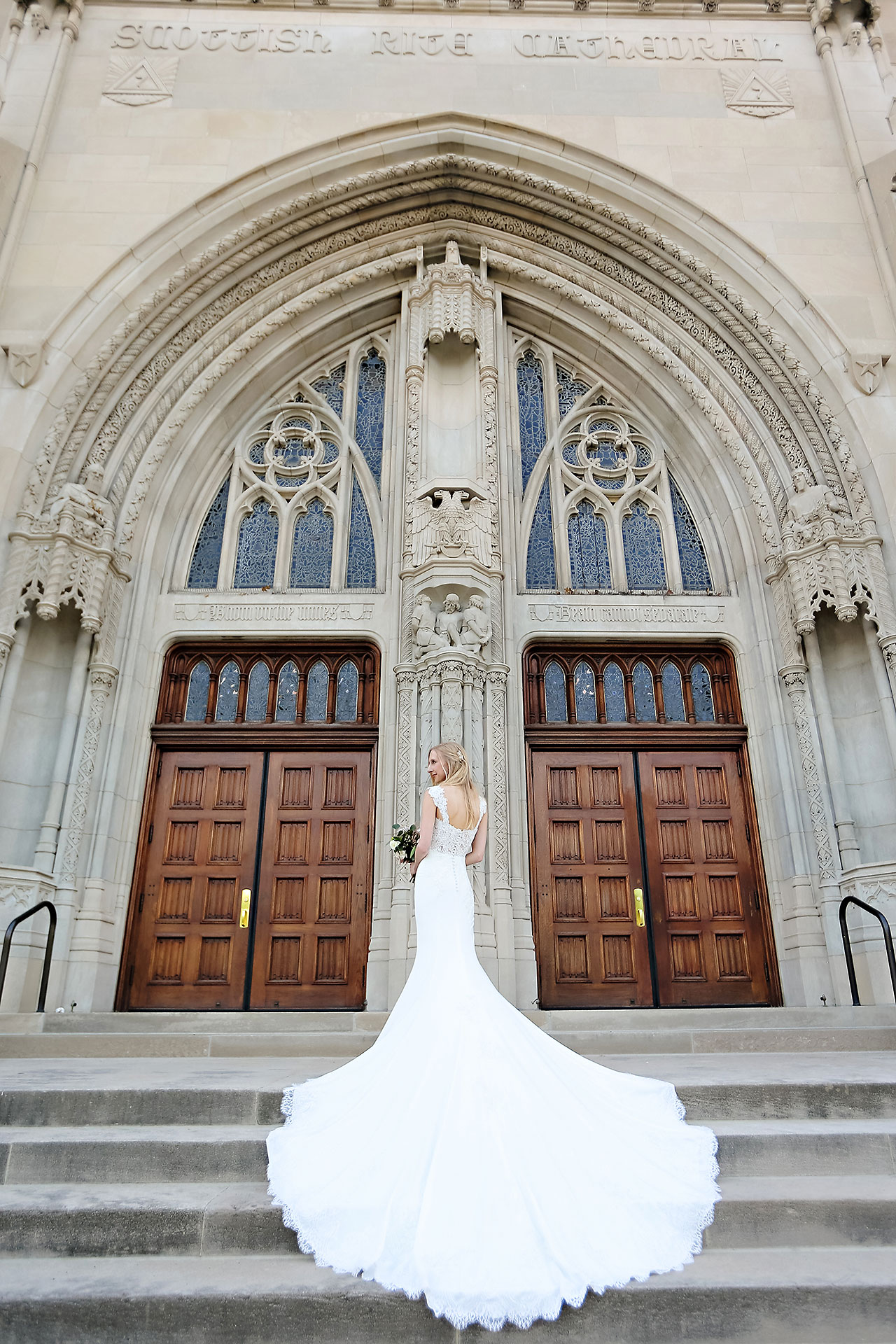 Molly Declan Scottish Rite Indianapolis Wedding 164