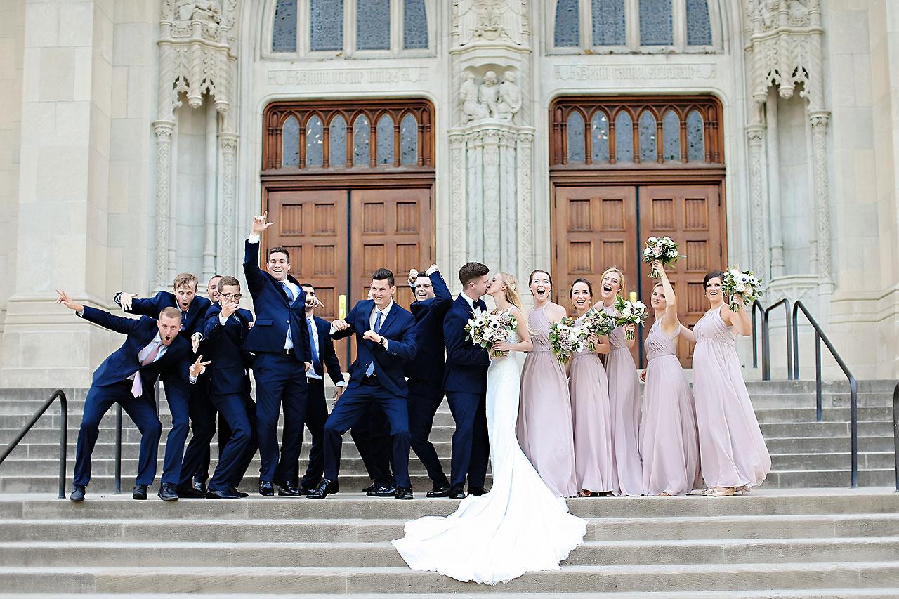 Molly Declan Scottish Rite Indianapolis Wedding 156