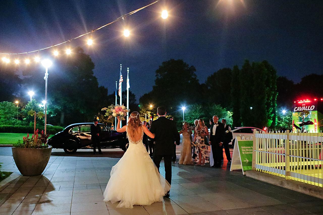 Kathleen Ben Indianapolis Newfields Wedding 244