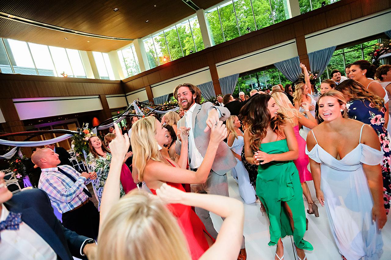 Kathleen Ben Indianapolis Newfields Wedding 182