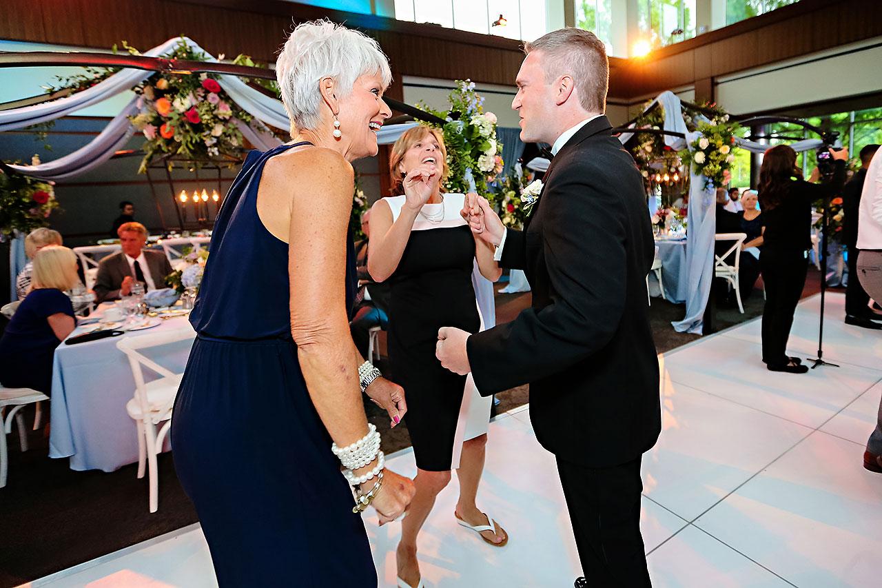 Kathleen Ben Indianapolis Newfields Wedding 172