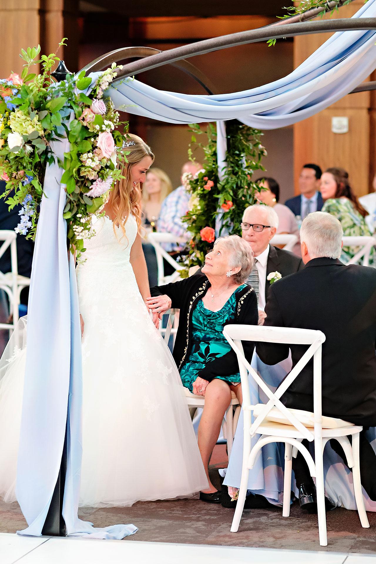 Kathleen Ben Indianapolis Newfields Wedding 164