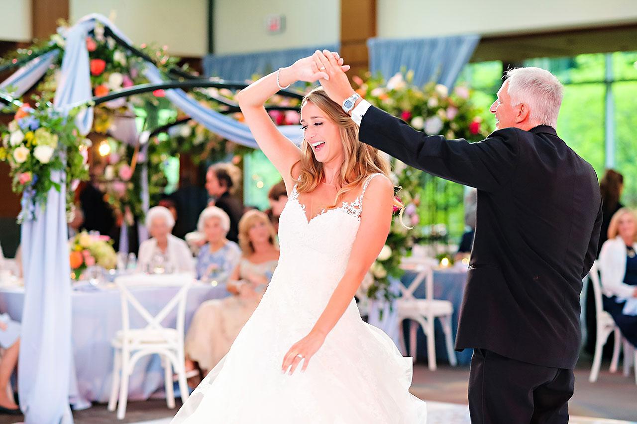Kathleen Ben Indianapolis Newfields Wedding 158