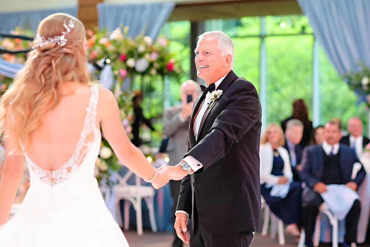 Kathleen Ben Indianapolis Newfields Wedding 159
