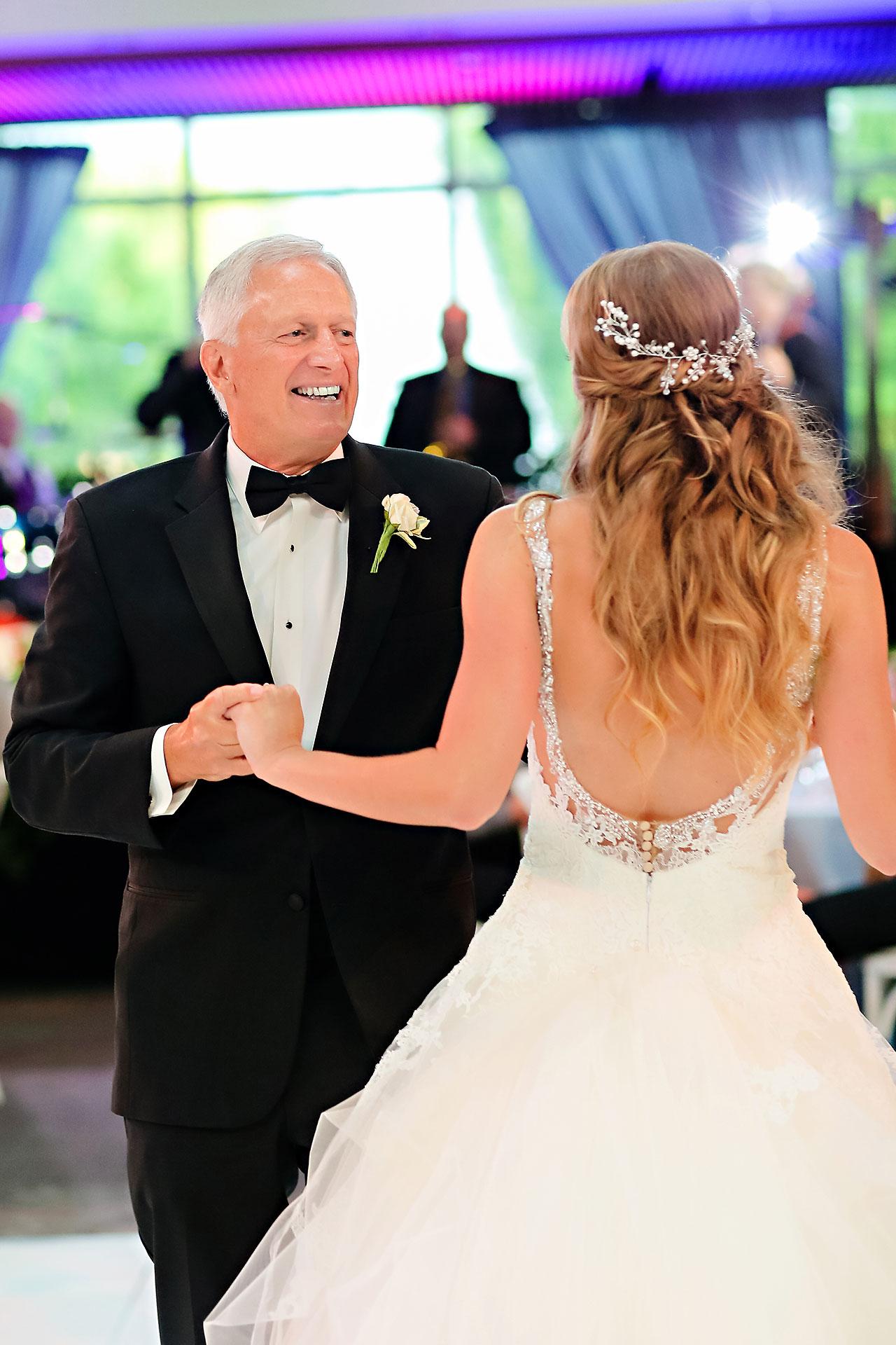 Kathleen Ben Indianapolis Newfields Wedding 155