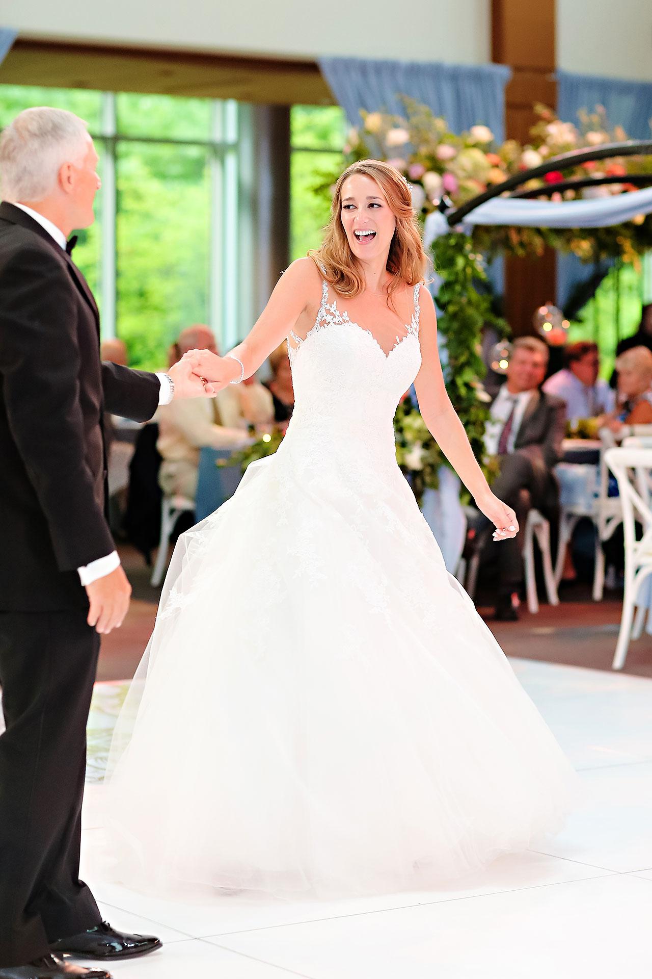 Kathleen Ben Indianapolis Newfields Wedding 156