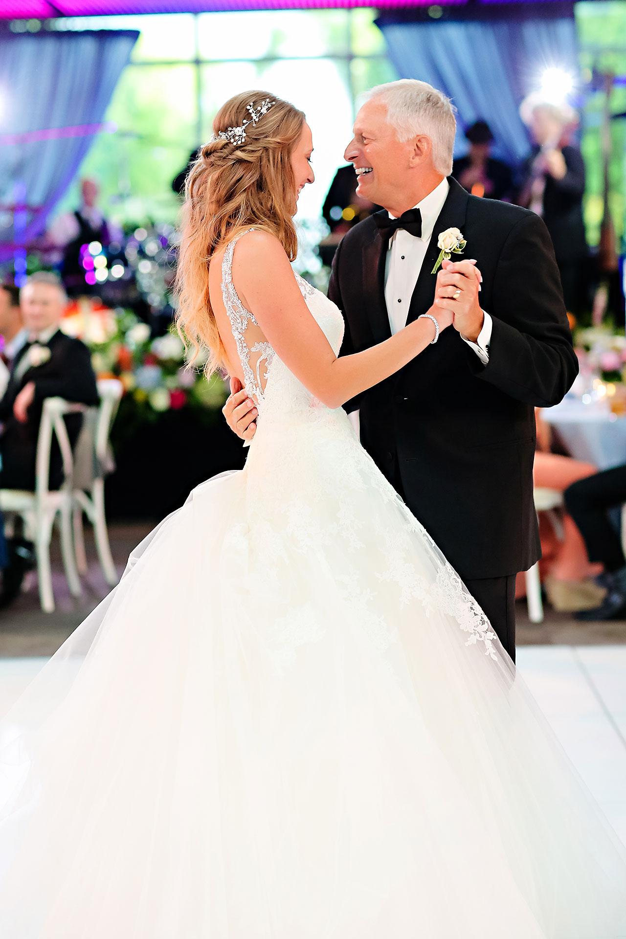 Kathleen Ben Indianapolis Newfields Wedding 157