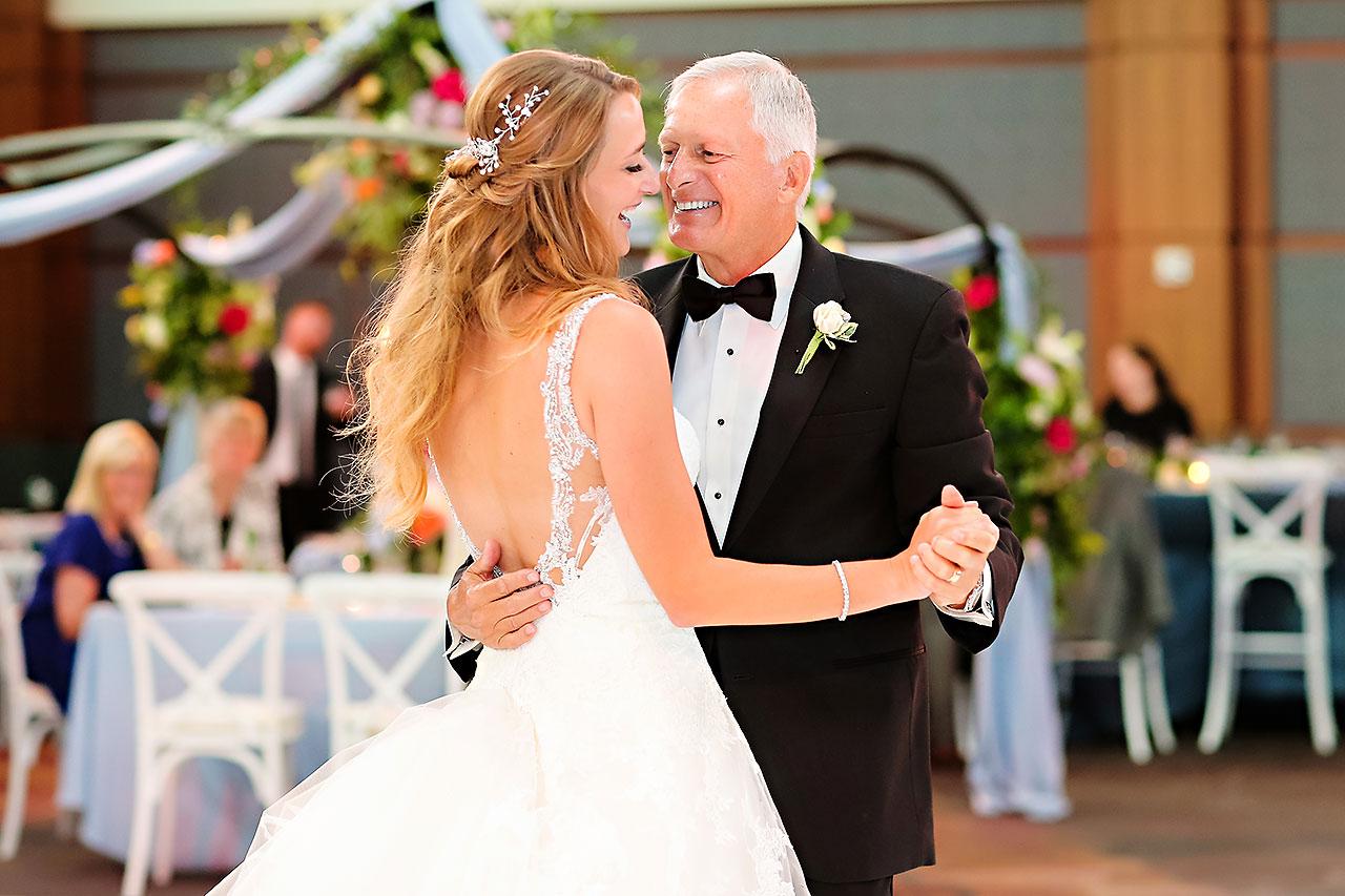 Kathleen Ben Indianapolis Newfields Wedding 154