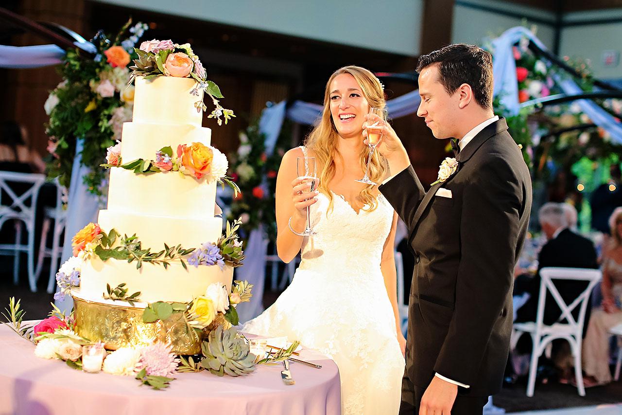 Kathleen Ben Indianapolis Newfields Wedding 151