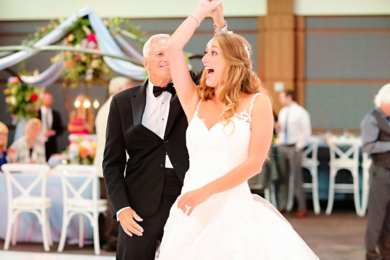 Kathleen Ben Indianapolis Newfields Wedding 152