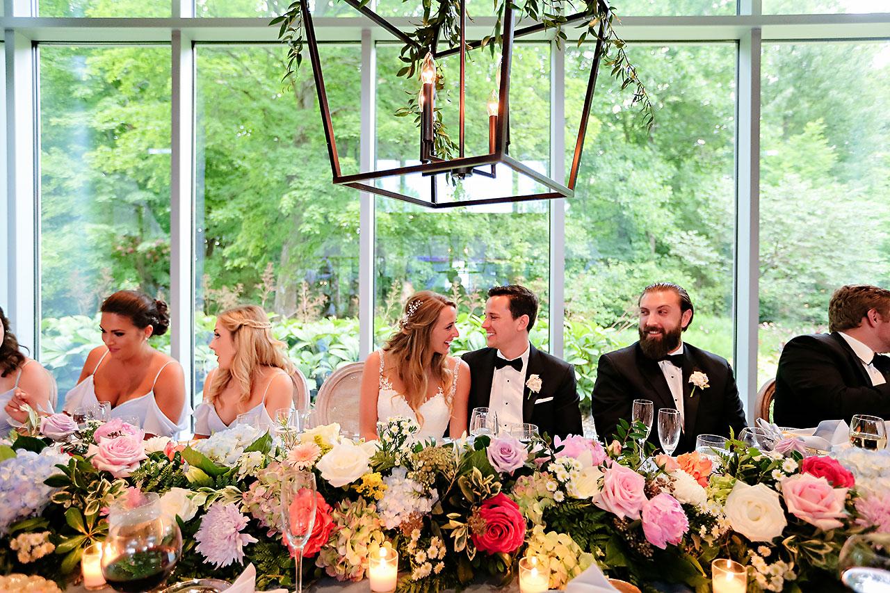 Kathleen Ben Indianapolis Newfields Wedding 148