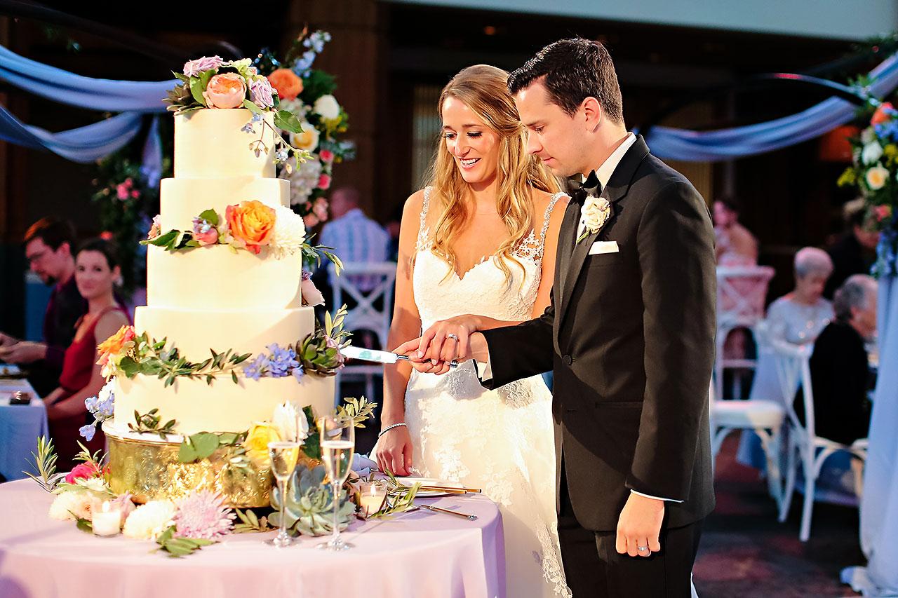 Kathleen Ben Indianapolis Newfields Wedding 149
