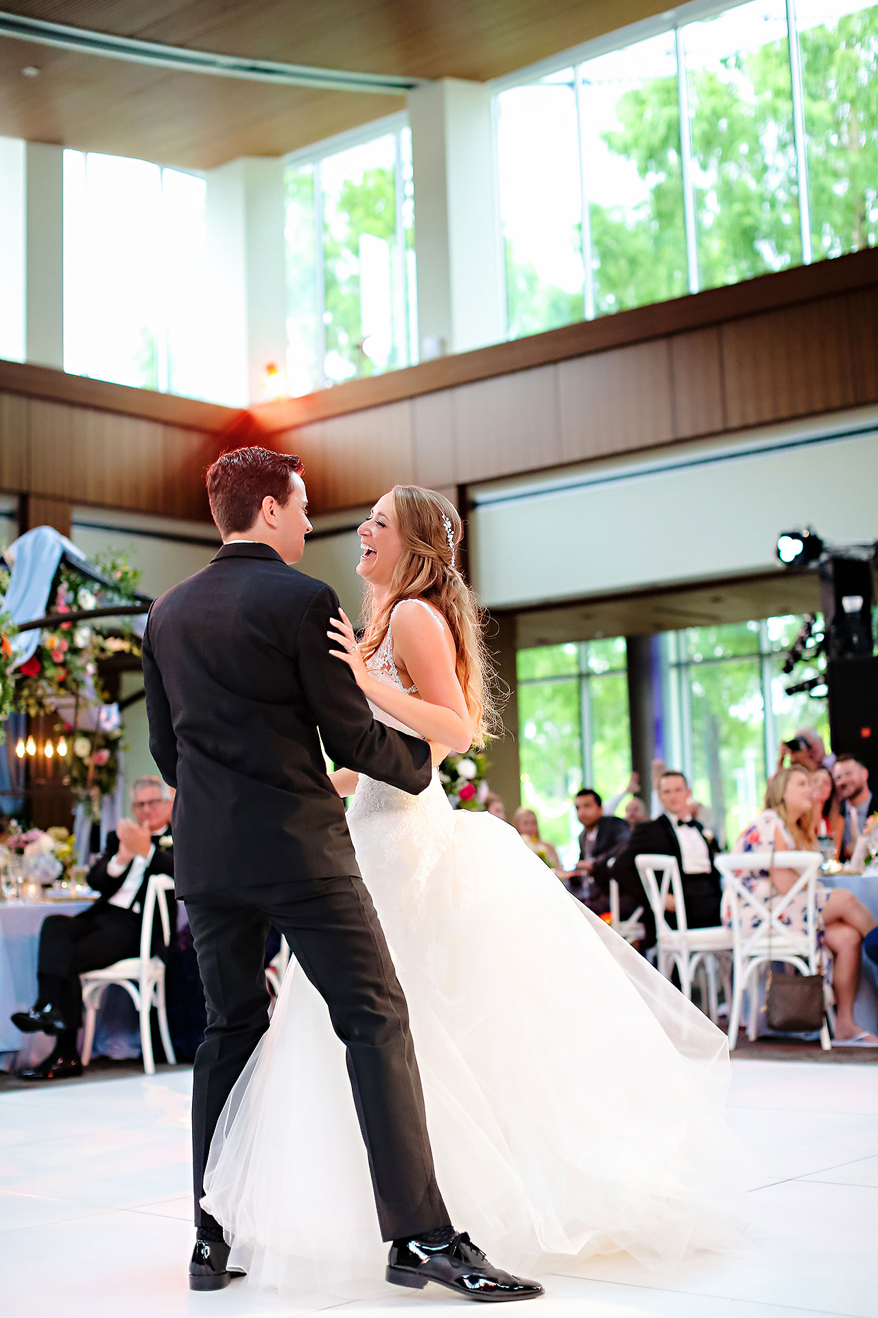 Kathleen Ben Indianapolis Newfields Wedding 146
