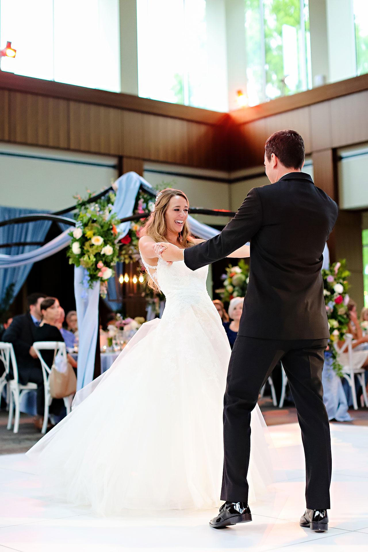 Kathleen Ben Indianapolis Newfields Wedding 147