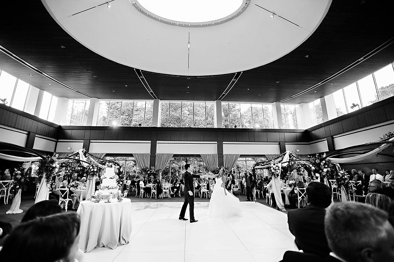 Kathleen Ben Indianapolis Newfields Wedding 141