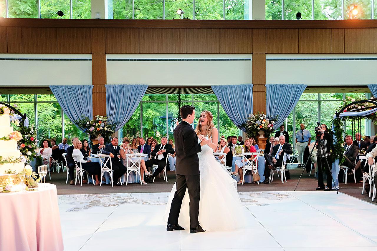 Kathleen Ben Indianapolis Newfields Wedding 142