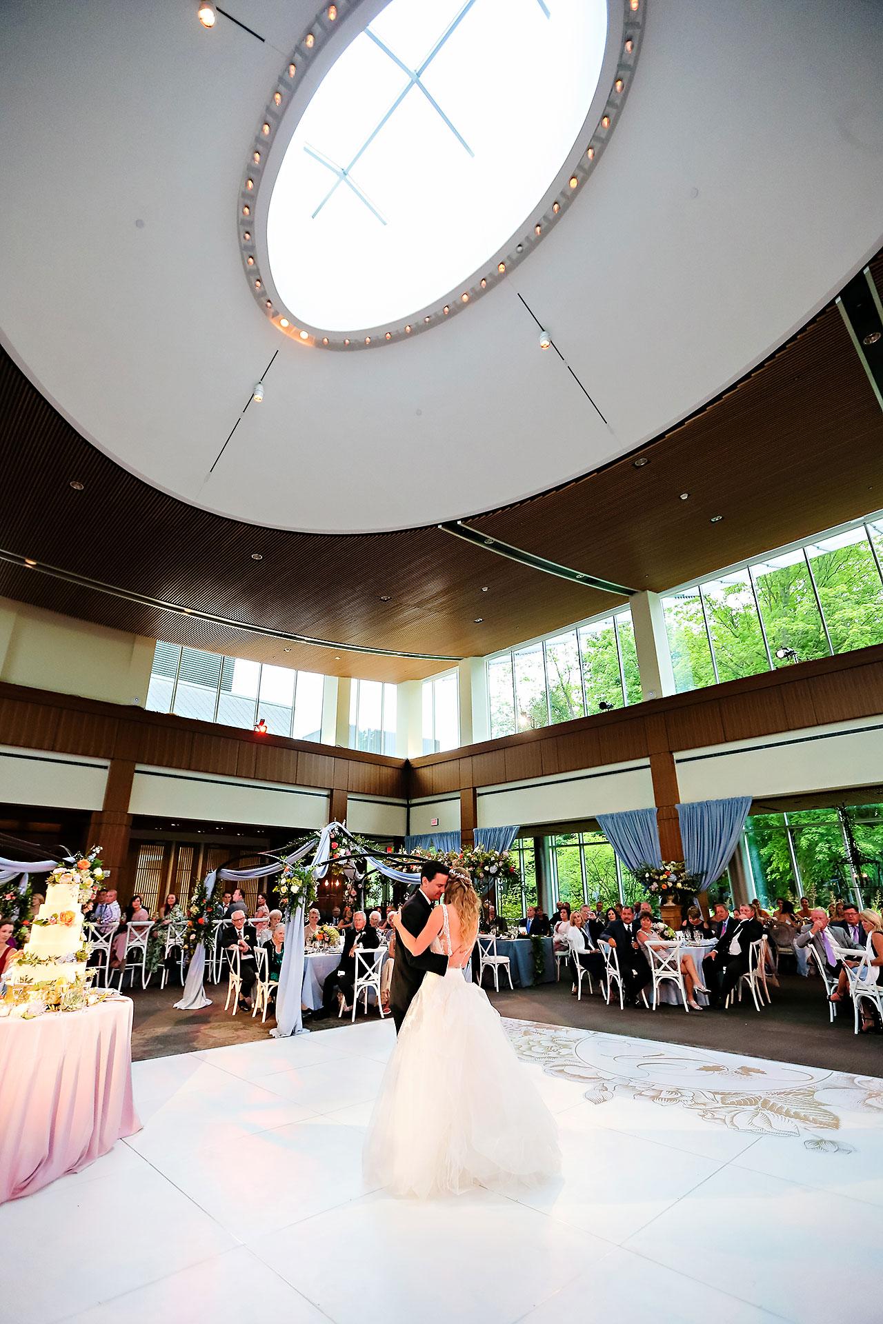 Kathleen Ben Indianapolis Newfields Wedding 136