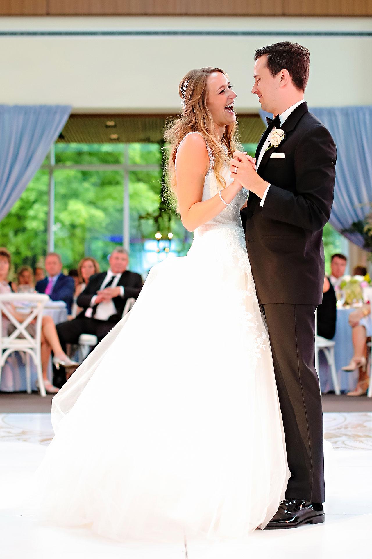 Kathleen Ben Indianapolis Newfields Wedding 137