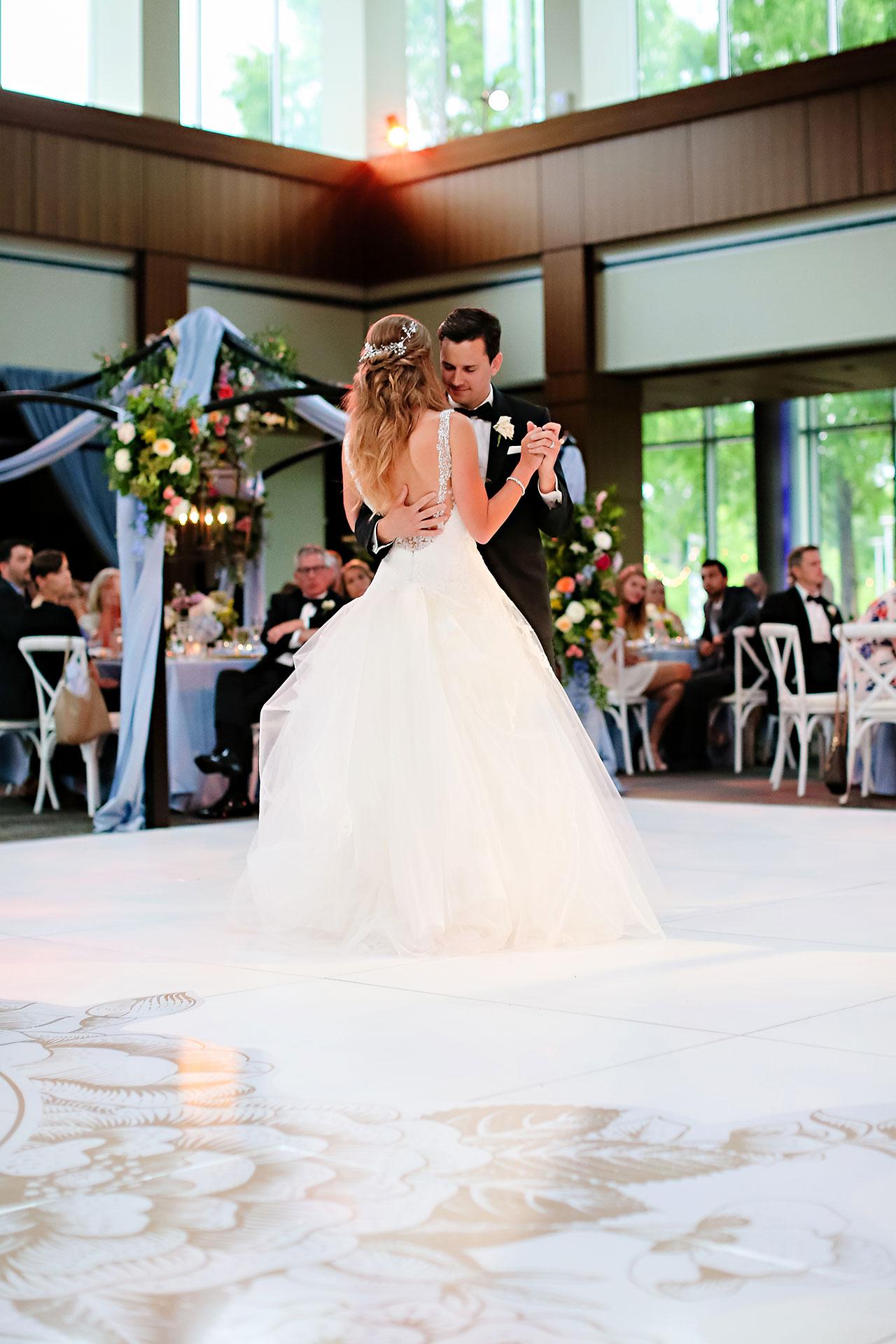 Kathleen Ben Indianapolis Newfields Wedding 138