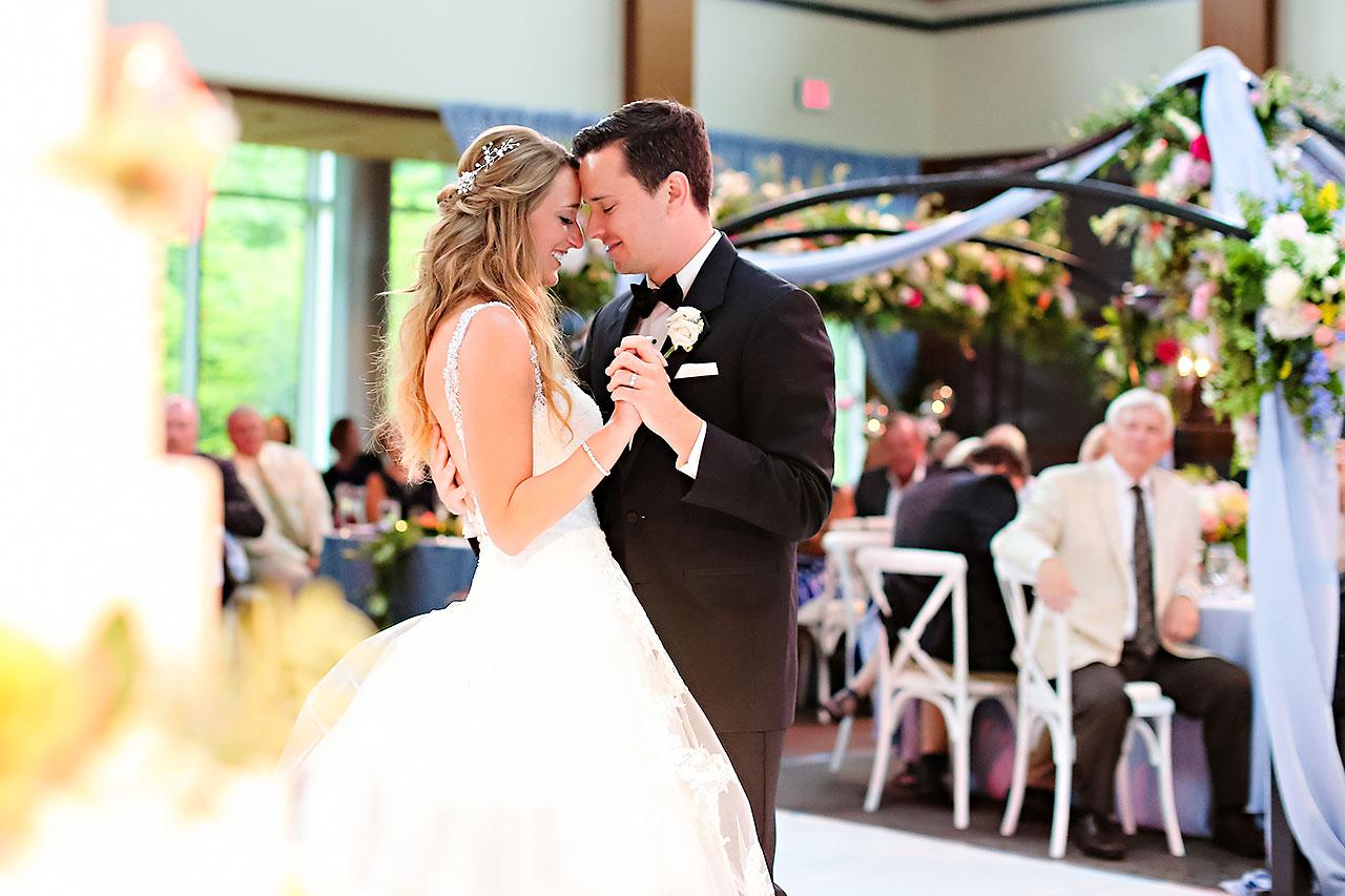 Kathleen Ben Indianapolis Newfields Wedding 134