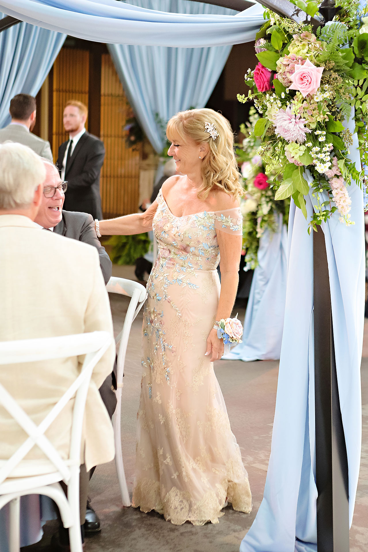 Kathleen Ben Indianapolis Newfields Wedding 107