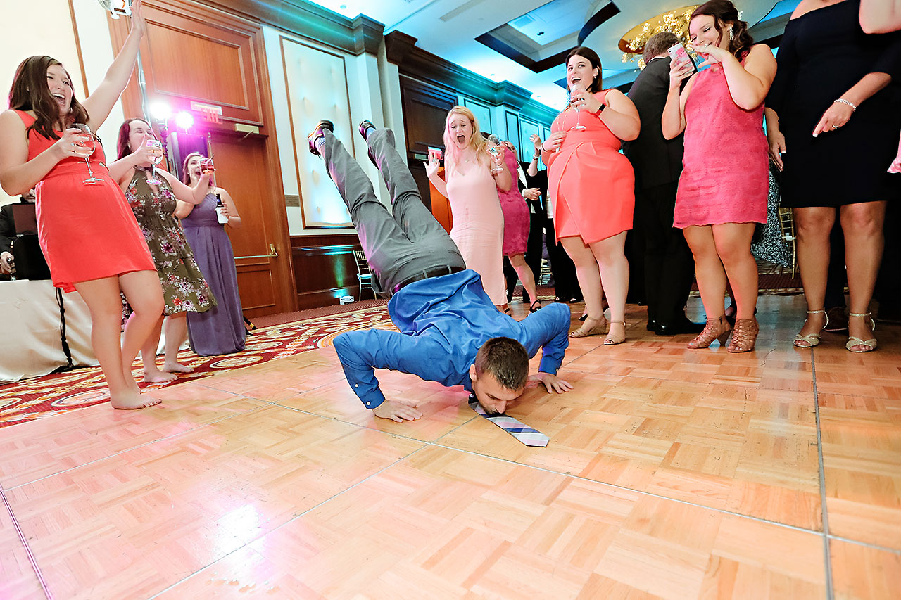 Ali Joey Conrad Indianapolis Wedding 373