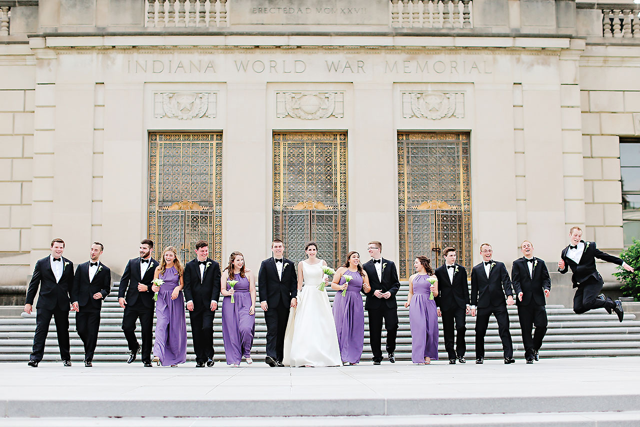 Ali Joey Conrad Indianapolis Wedding 140