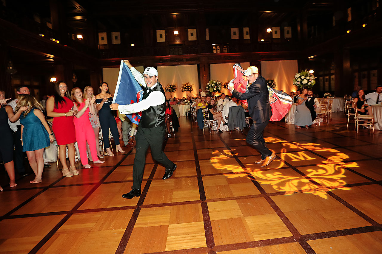Morgan Max Scottish Rite Indianapolis Wedding 367