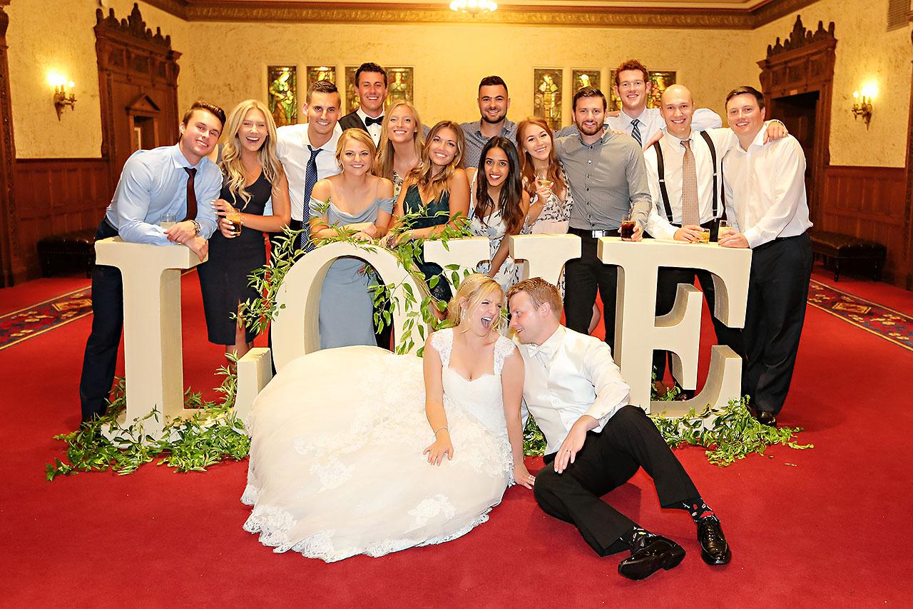 Morgan Max Scottish Rite Indianapolis Wedding 345