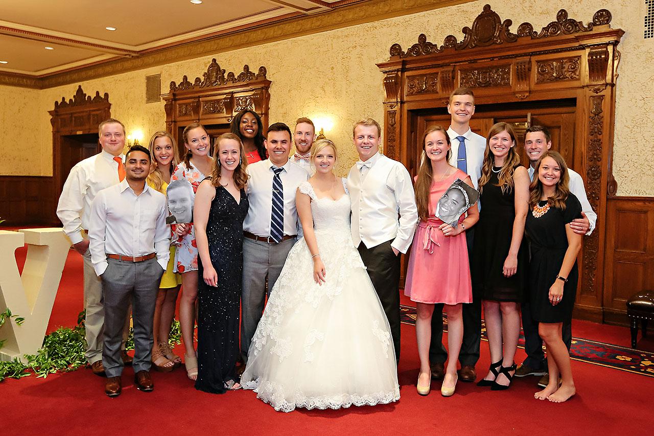 Morgan Max Scottish Rite Indianapolis Wedding 333