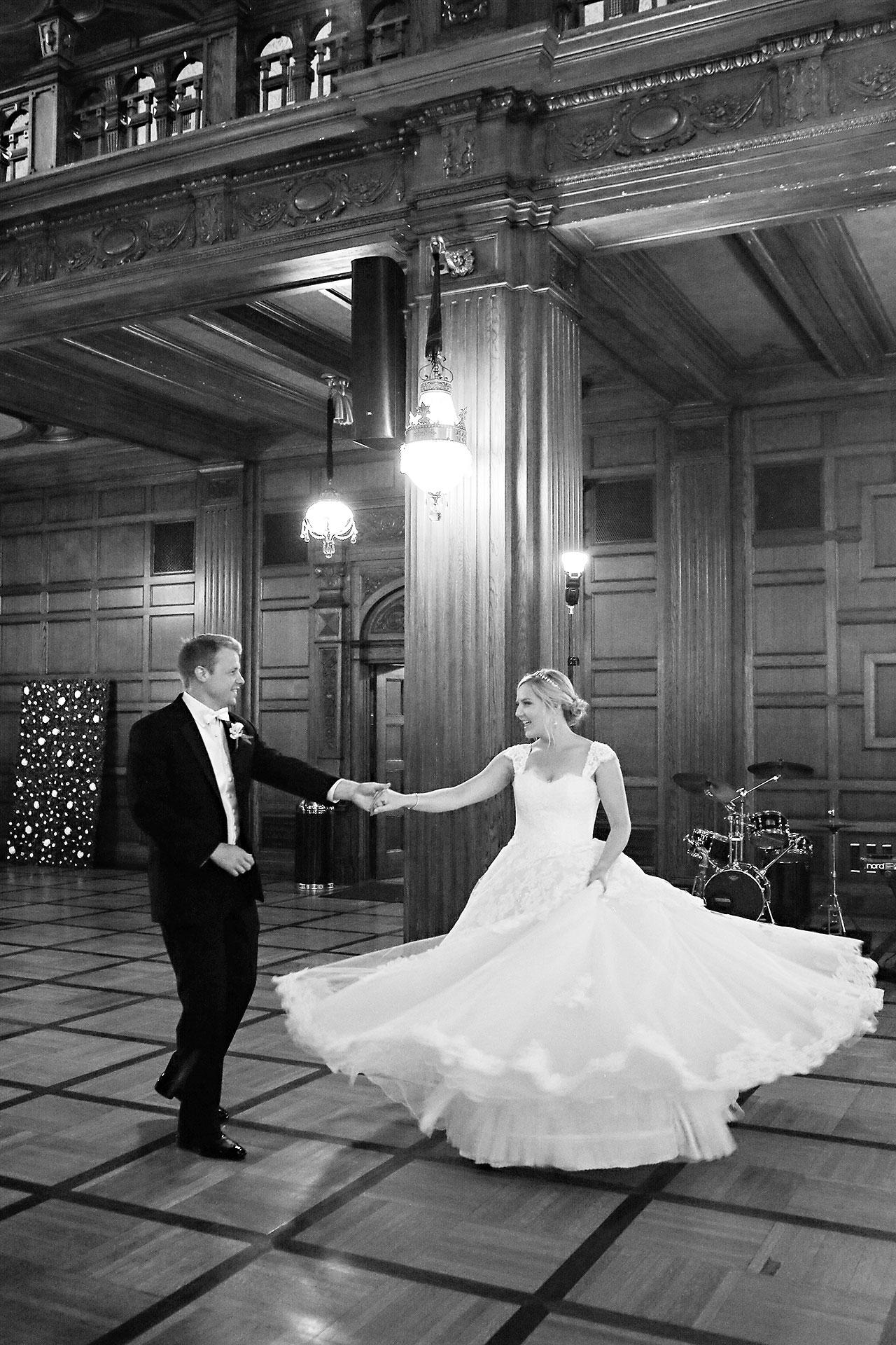 Morgan Max Scottish Rite Indianapolis Wedding 291