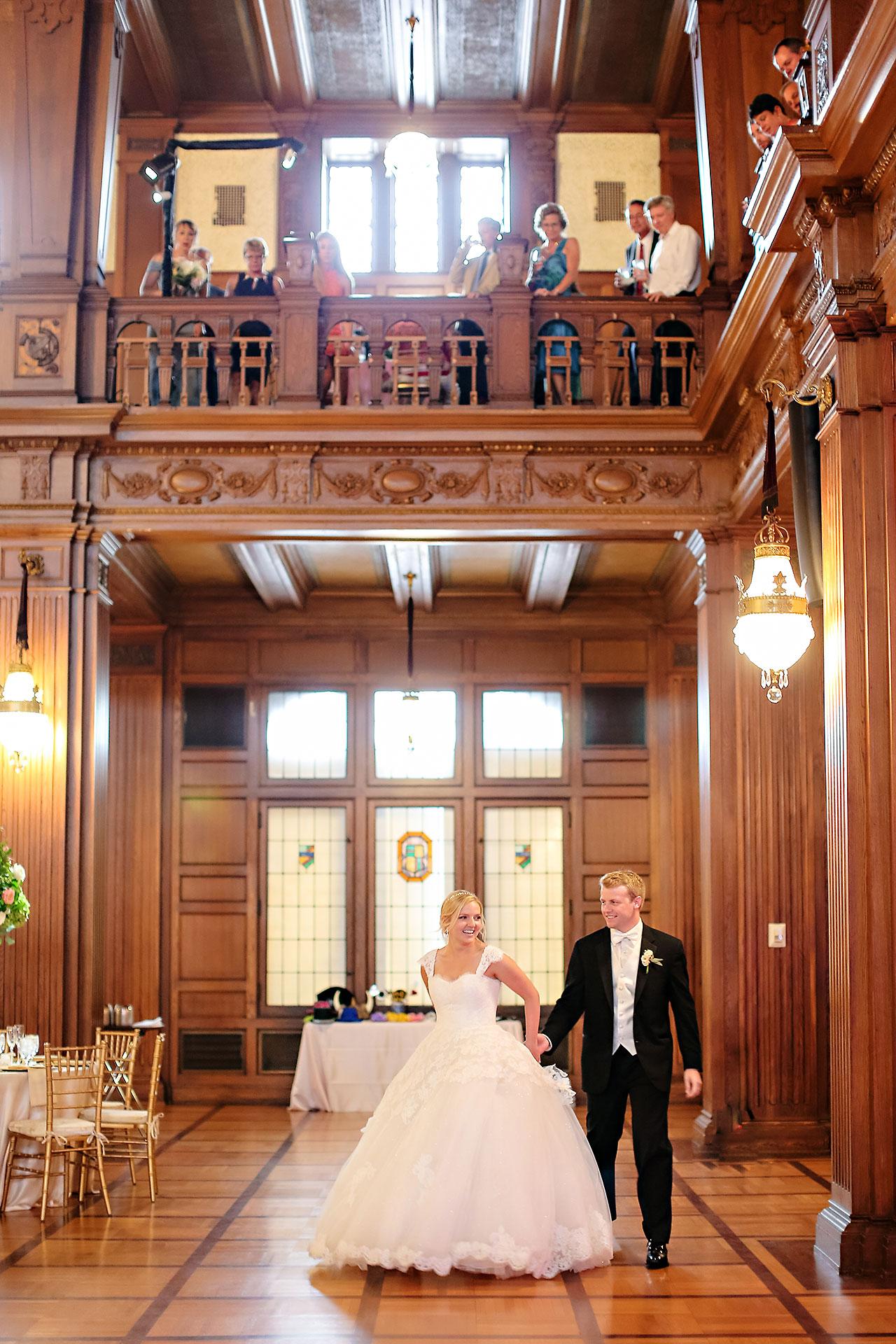 Morgan Max Scottish Rite Indianapolis Wedding 277