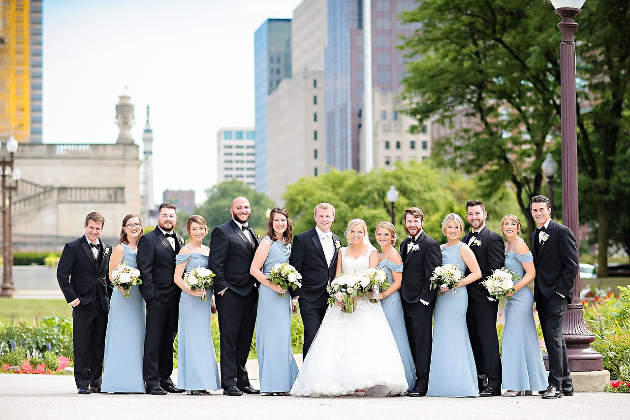 Morgan Max Scottish Rite Indianapolis Wedding 173