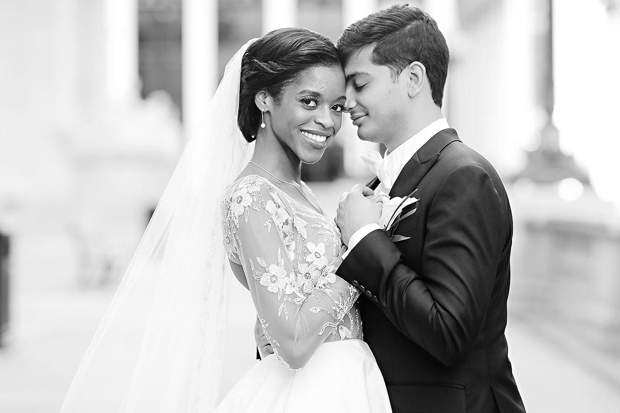 Joie Nikhil Indianapolis Christian Wedding 219