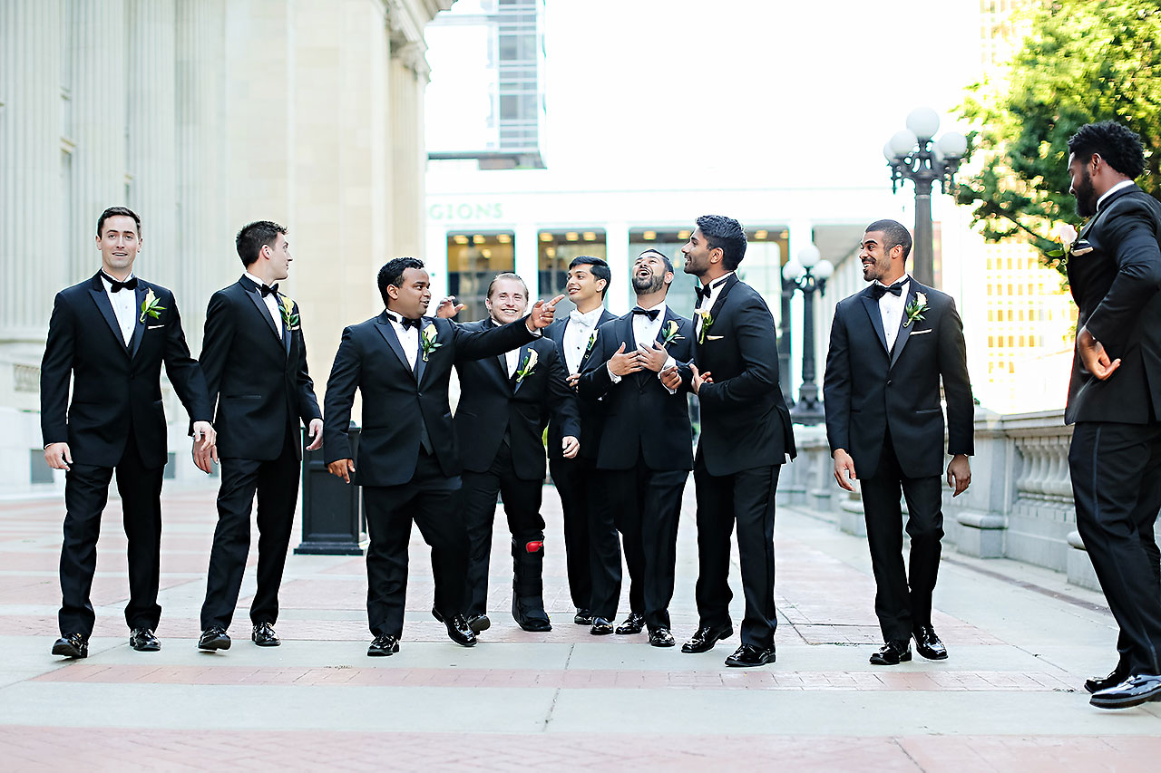 Joie Nikhil Indianapolis Christian Wedding 215