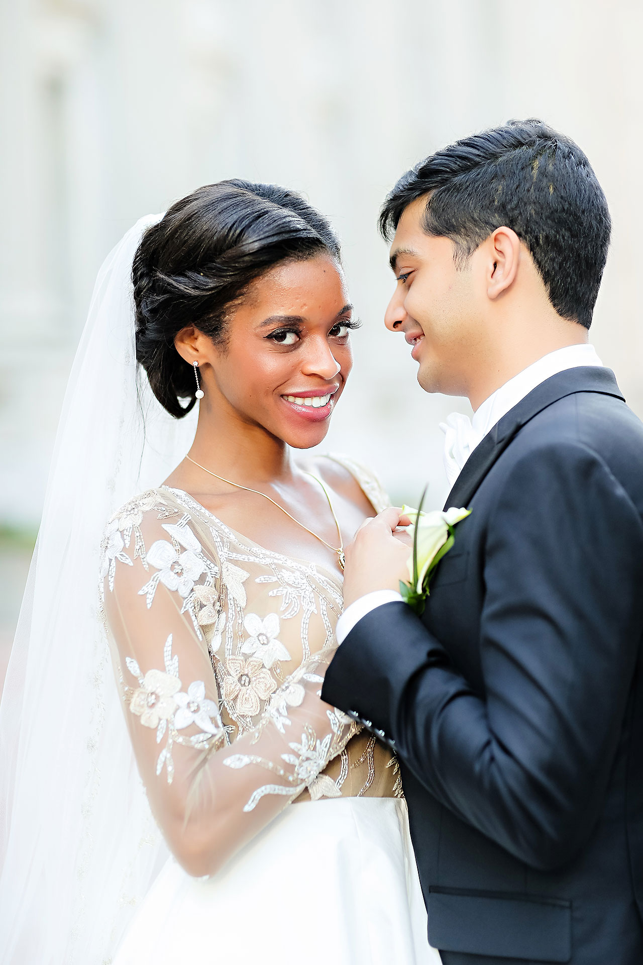 Joie Nikhil Indianapolis Christian Wedding 173