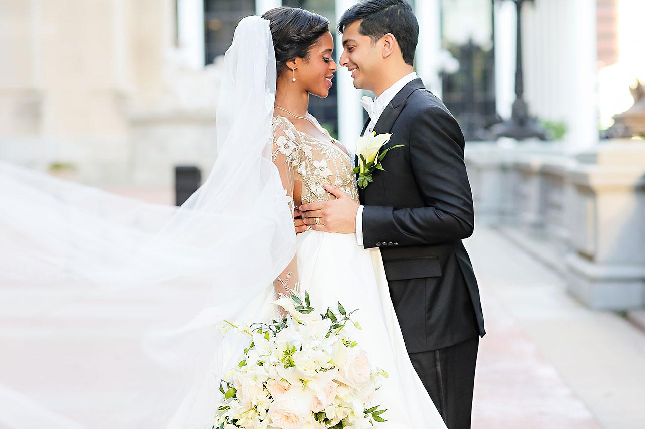 Joie Nikhil Indianapolis Christian Wedding 161