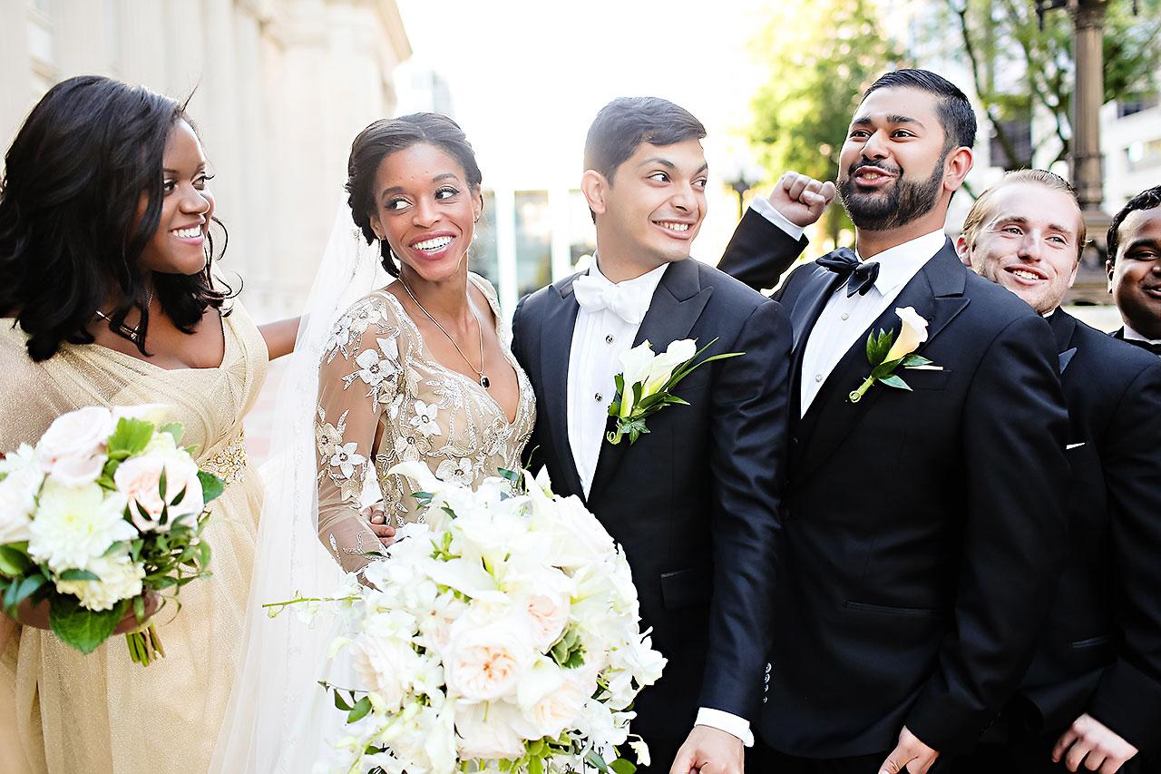 Joie Nikhil Indianapolis Christian Wedding 162