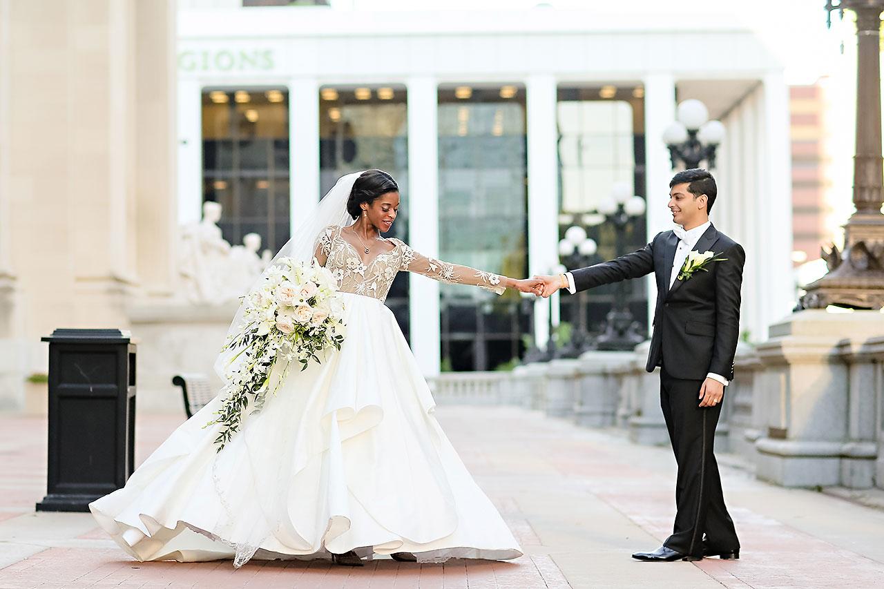 Joie Nikhil Indianapolis Christian Wedding 155