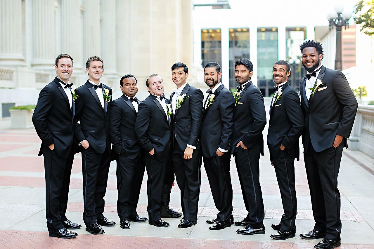 Joie Nikhil Indianapolis Christian Wedding 156