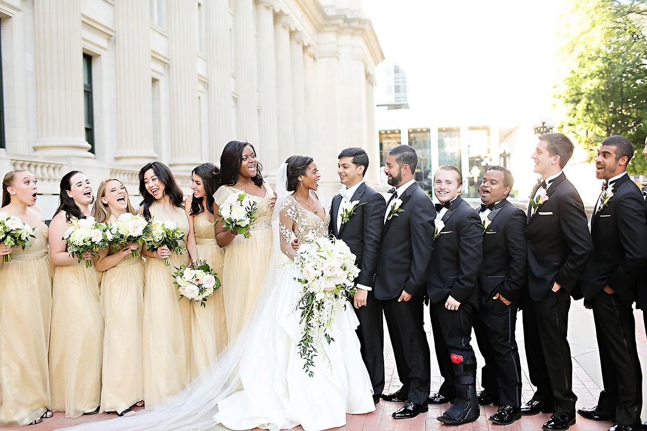 Joie Nikhil Indianapolis Christian Wedding 131