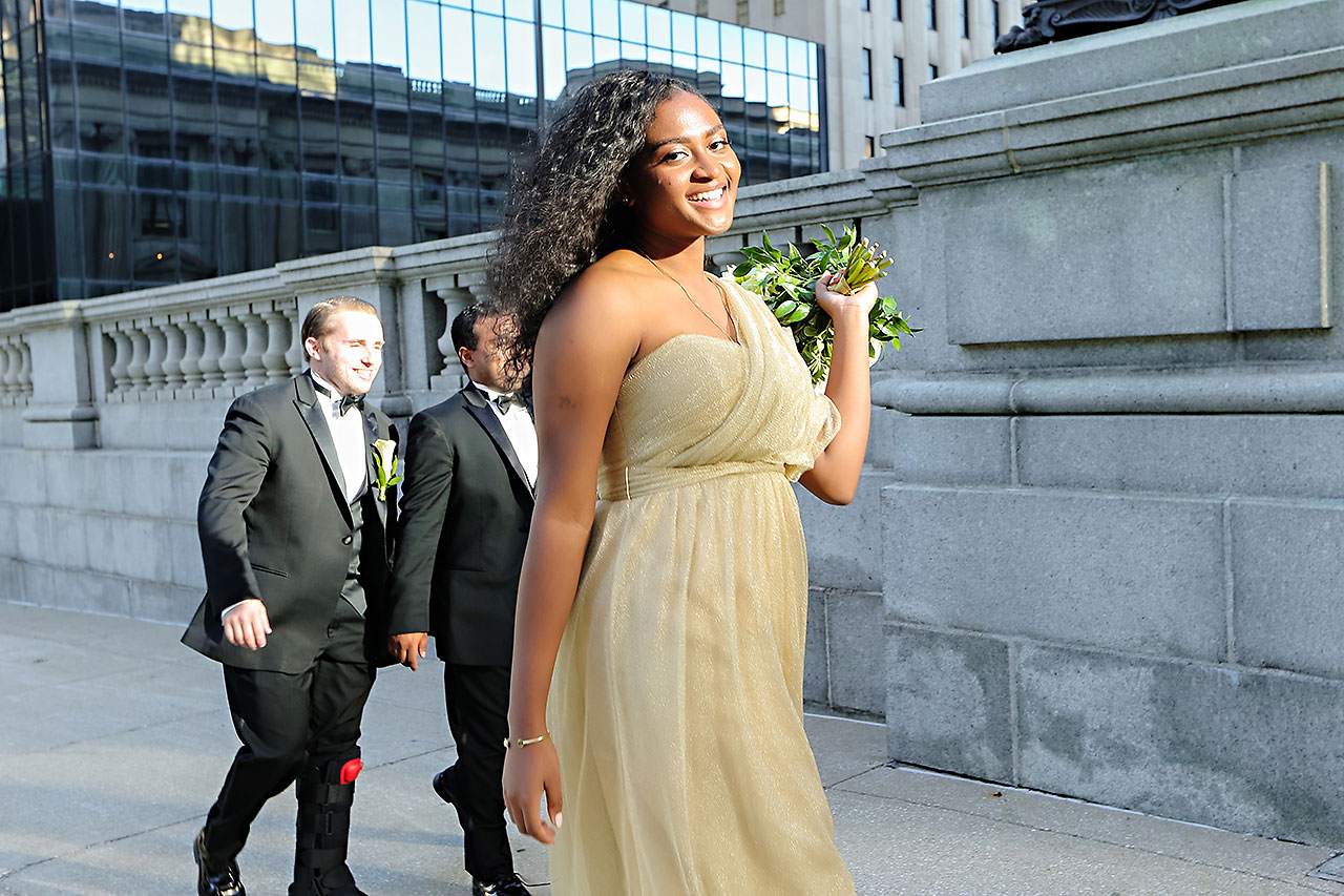 Joie Nikhil Indianapolis Christian Wedding 126