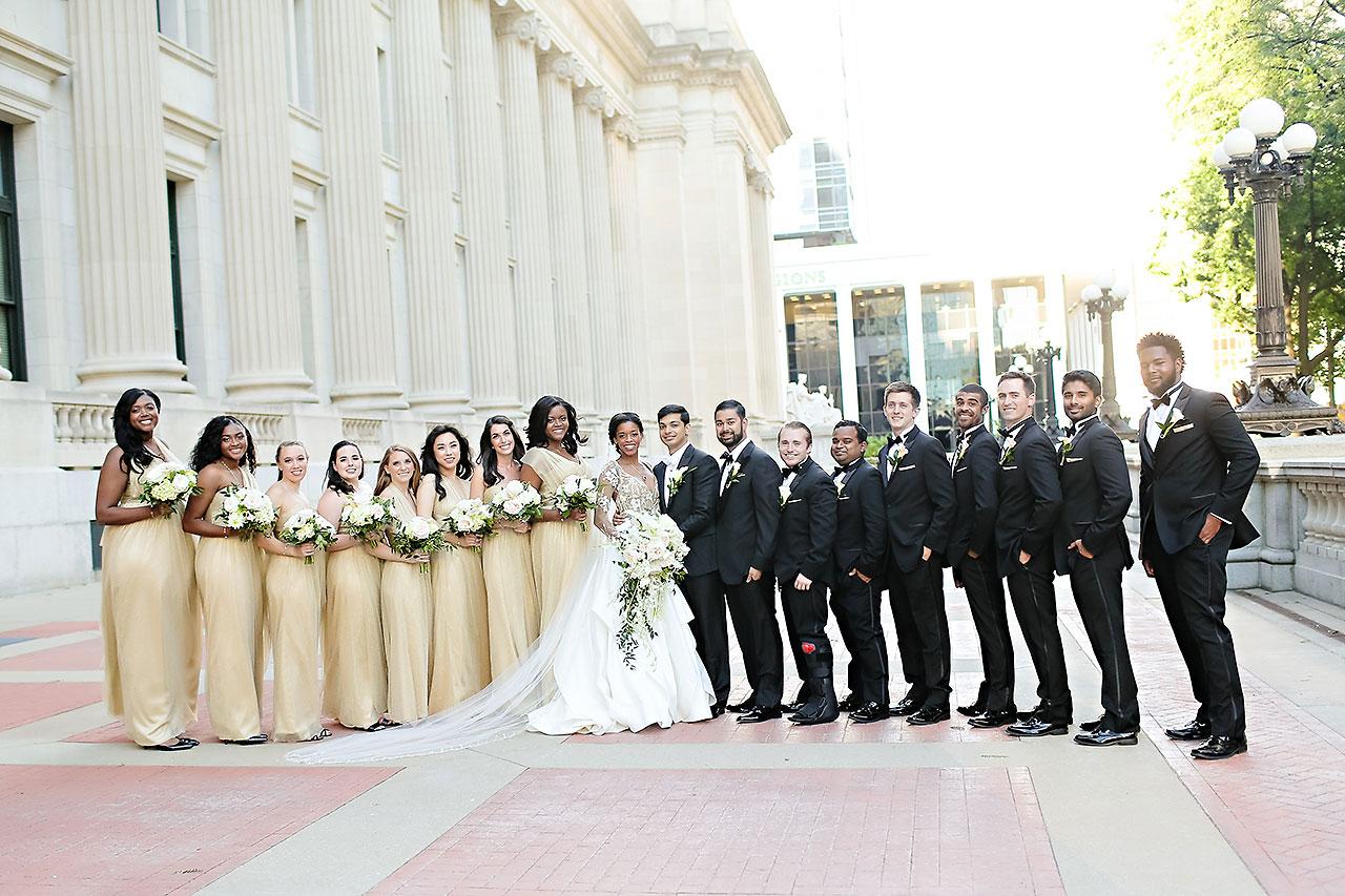 Joie Nikhil Indianapolis Christian Wedding 128