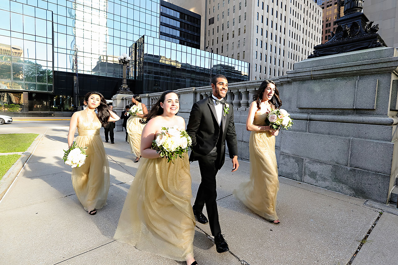 Joie Nikhil Indianapolis Christian Wedding 125