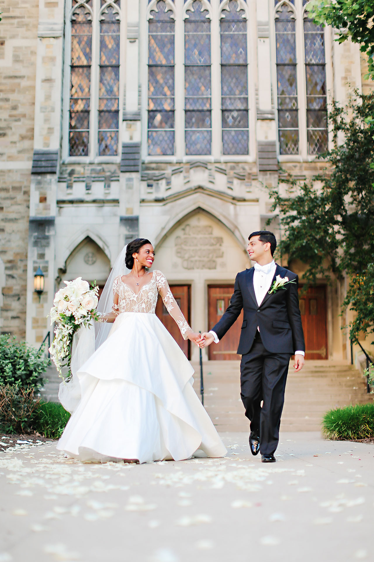 Joie Nikhil Indianapolis Christian Wedding 122