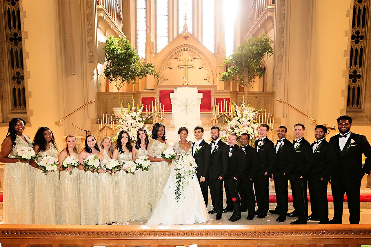 Joie Nikhil Indianapolis Christian Wedding 109