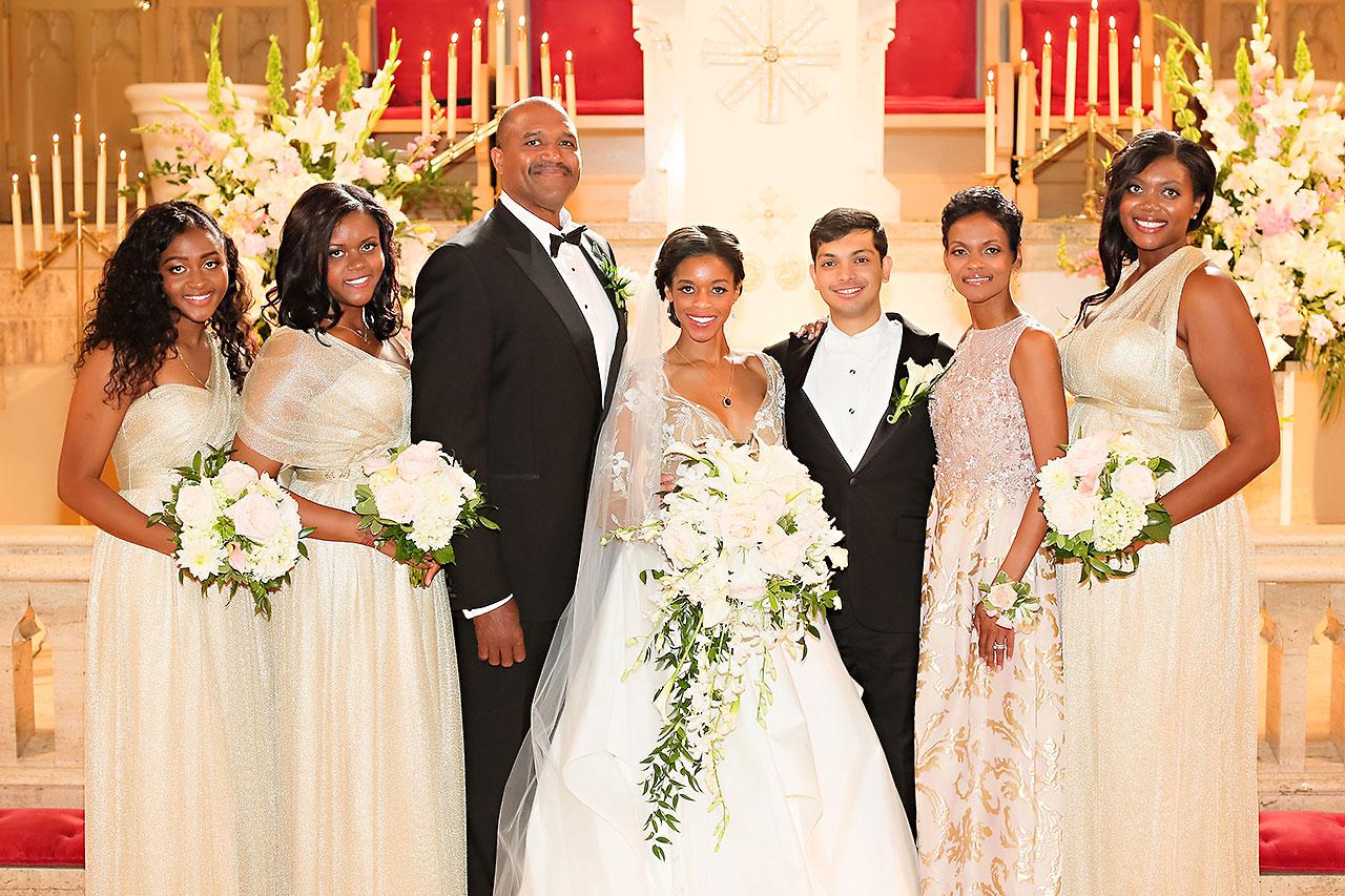 Joie Nikhil Indianapolis Christian Wedding 101