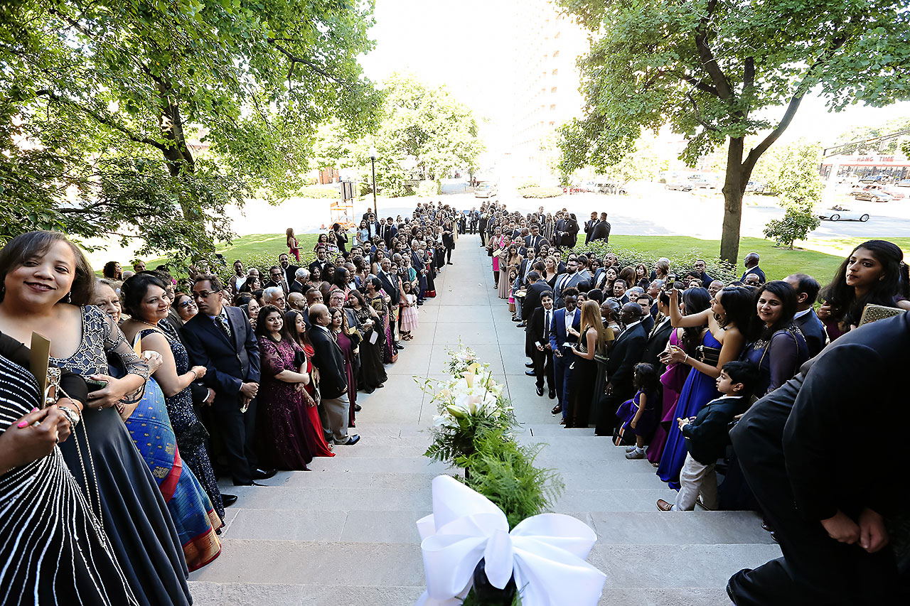 Joie Nikhil Indianapolis Christian Wedding 091