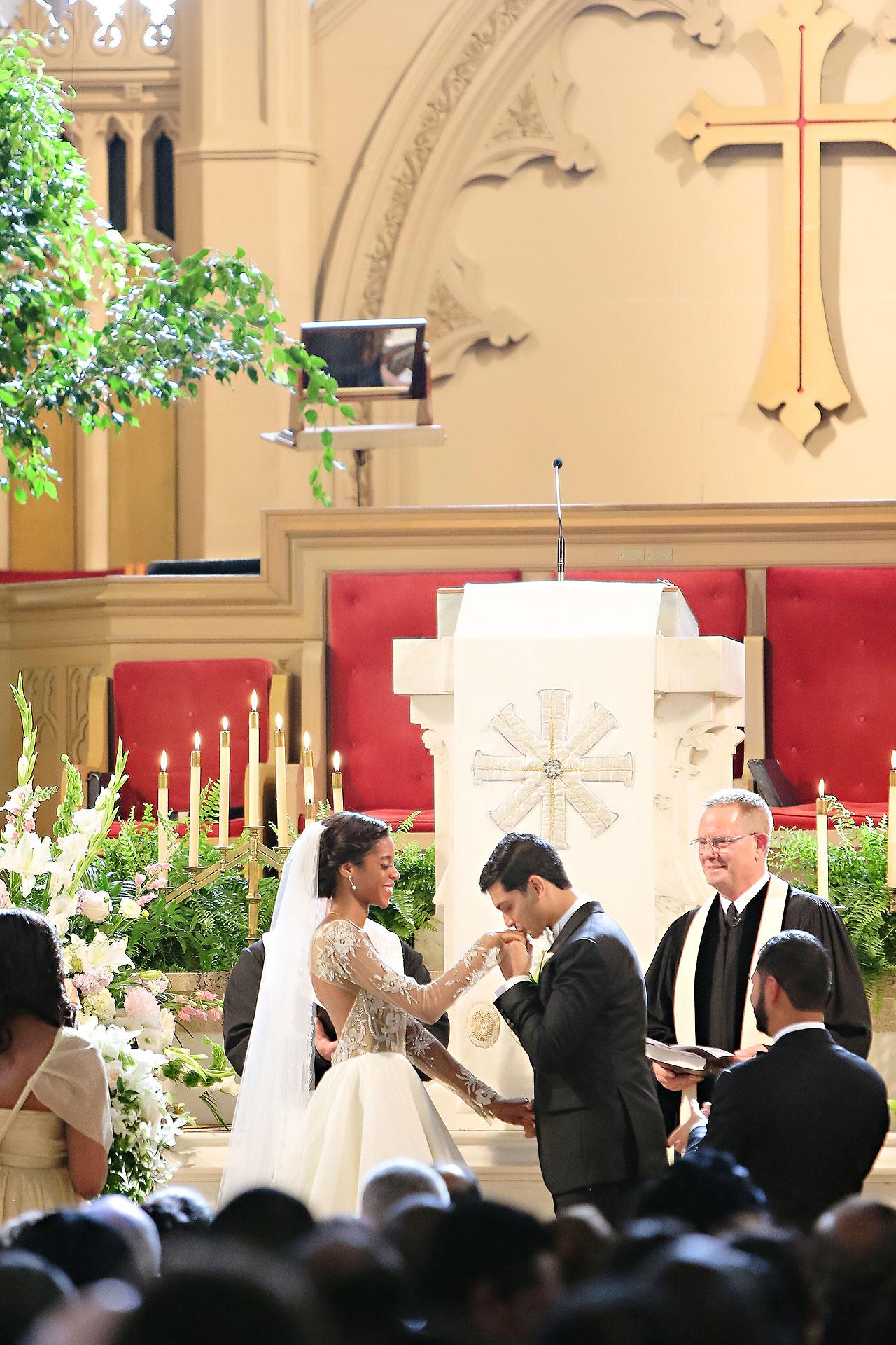 Joie Nikhil Indianapolis Christian Wedding 085
